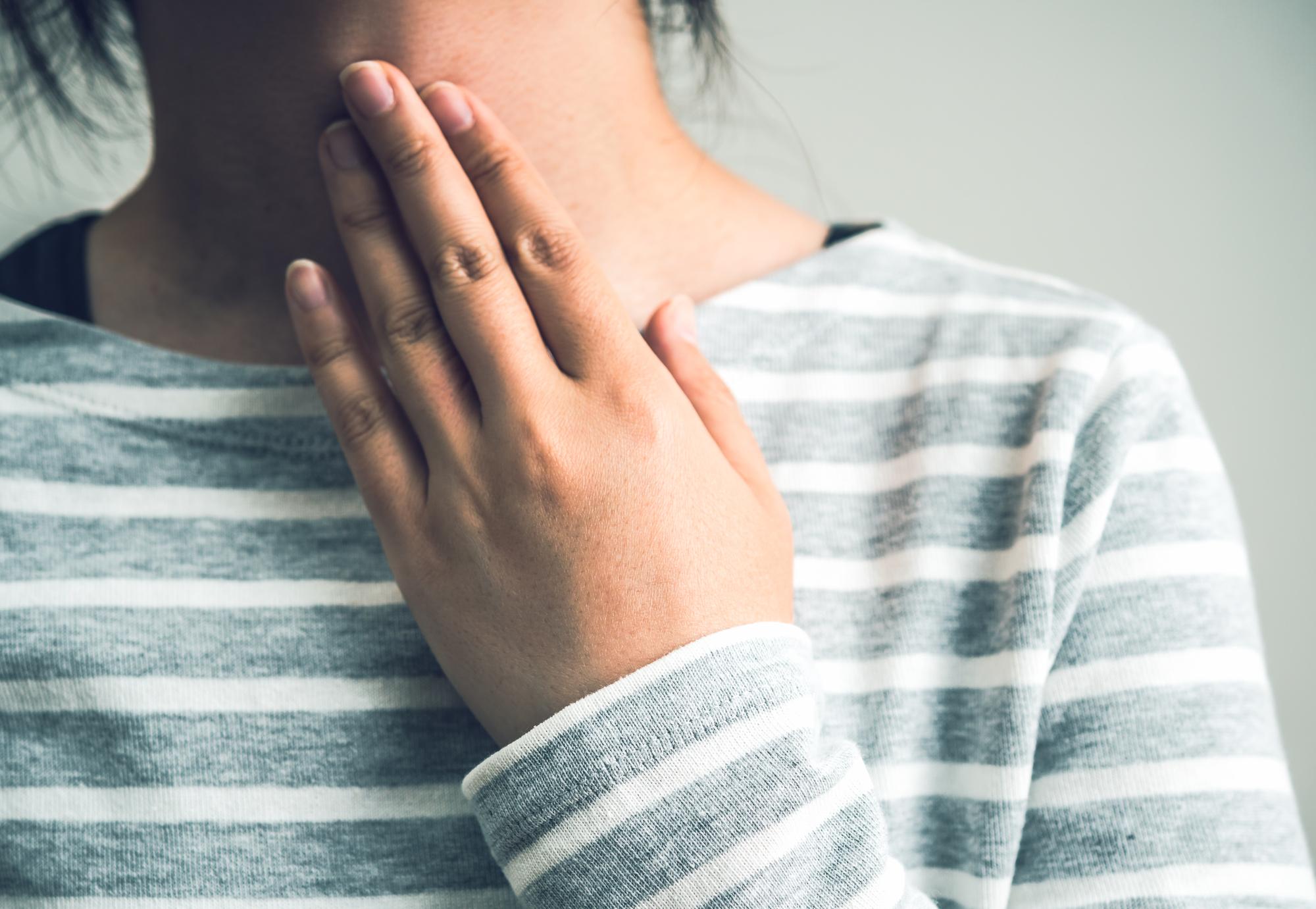 甲状腺の腫れ