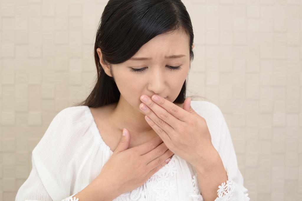 吐き気 吐き気を止める 4つの方法