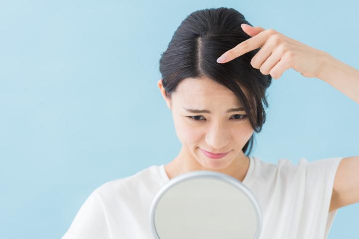 髪が抜ける 内臓の病気