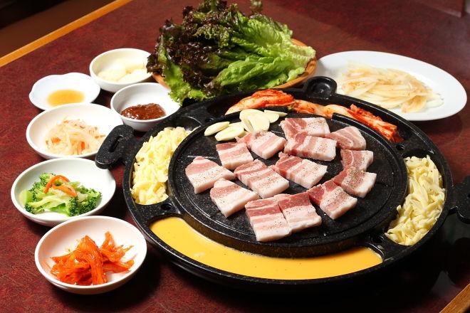 韓国料理 土地