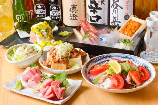 大衆寿司酒場 こがね商店_10