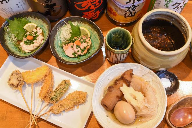 新鮮魚介&串揚げ ちゃぷ