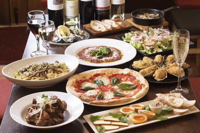 牡蠣とワインと魚と肉と。元住吉にて