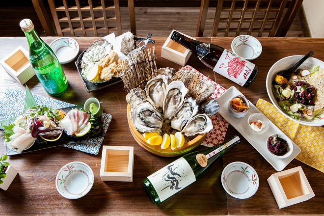 牡蠣海鮮料理 かき家こだはる 新橋店