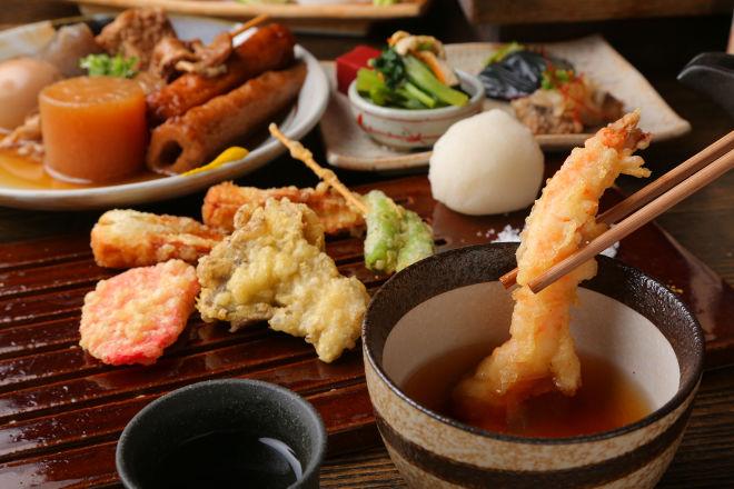 天ぷら呑み屋 ツキトカゲ新町店