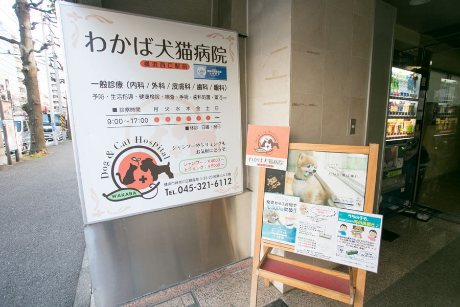 横浜駅西口から徒歩6分