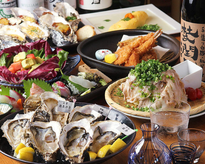 牡蠣と魚 海宝 みなとみらい店