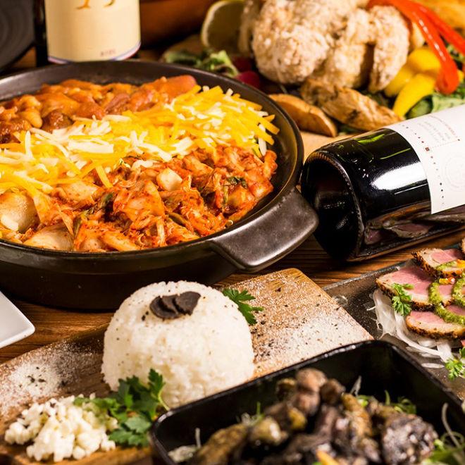 チーズタッカルビとクラフトビール 個室肉バル クルーズ 航 銀座店
