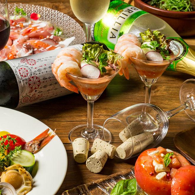 横浜 魚バル&wine オルウェーヴ