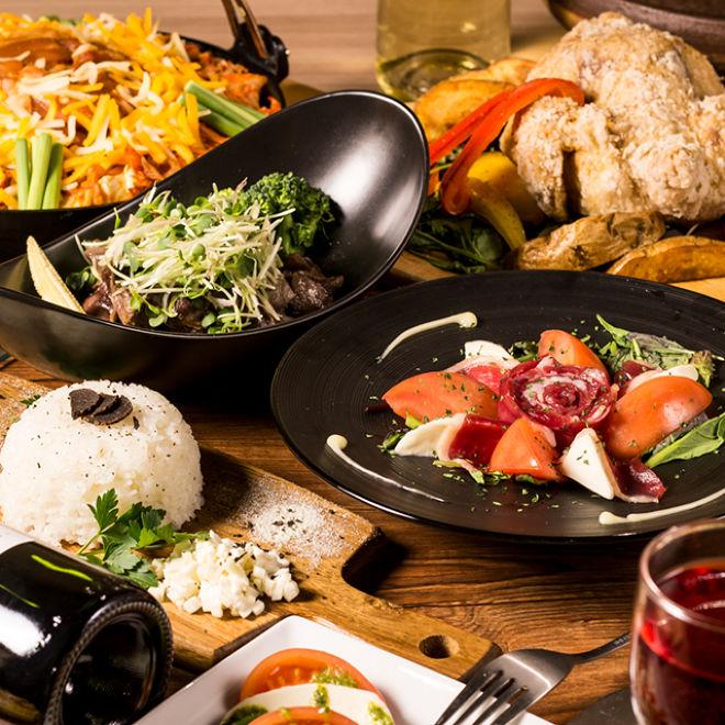 新横浜 肉バルとチーズタッカルビ 肉屋の三田